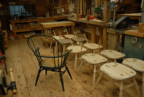 Workshop at Windsor Chairmakers