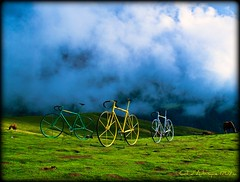 Col dAubisque 1709m - en France (NPP-publik_oberberg) Tags: horse mountains art bike clouds frankreich creative oberberg byciclette colorphotoaward thesuperbmasterpiece bestcapturesaoi coldaubisque elitegalleryaoi