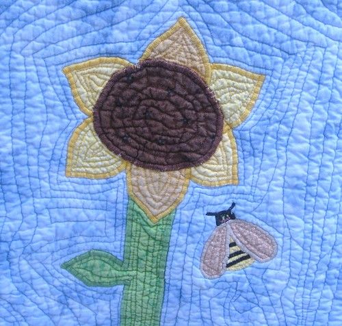 Sunbonnet Sue and Sam: Sunflower and Bee