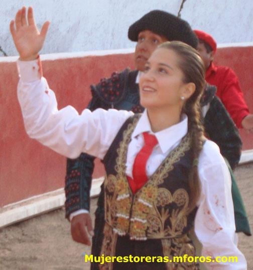 La torera colombiana Rocío Morelli