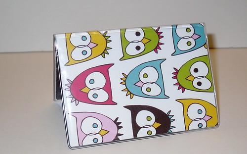 owls businesscardcaseholder