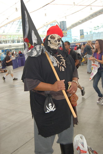 Comic Con 09: Undead Pirate