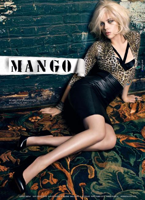 Scarlett Johansson - mango