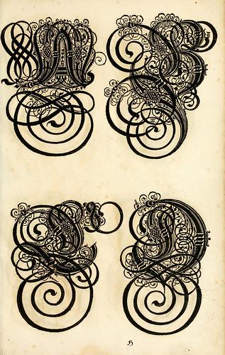 006--Kunstrichtige Schreibart  allerhand Versalie..Paul Frank 1655