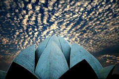 Jewel (Adib Roy) Tags: india house clouds temple hall worship lotus background prayer bahai 1986 adults mandir newdelhi lotustemple kamal bahaitemple 1300 bahaihouseofworship prayerhall kamalmandir