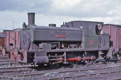 Andrew Barclay 970 NCB Derwenthaugh 61 DERWENT 27 Sept 1964 (pondhopper1) Tags: industrial steam railways ncb uksteam 060t andrewbarclay