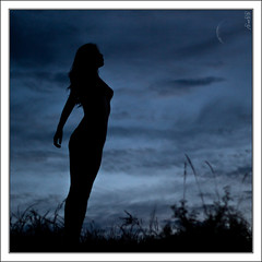 Silhouette beauty II (Explore EOS 50D content) (Mr.GG) Tags: moon girl beauty silhouette mongolia mrgg ggmgl ganulzii
