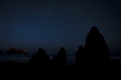 Rodeo Beach (David Tenebre) Tags: california night stars marin 2009 rodeobeach
