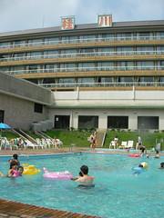 桂川シーサイドホテルのプール