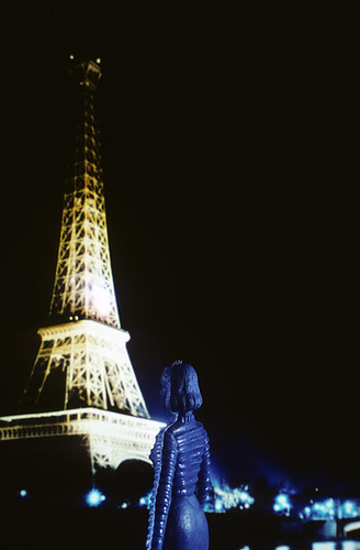 laurie simmons tourism eiffel tower