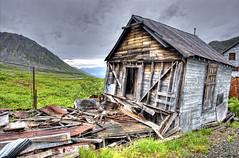 Independence Mine State Historic Park, Hatcher Pass, Alaska (ConstantineD) Tags: building alaska gold mine ak damage damaged hdr hatcherpass goldmine independencemine statehistoricpark 1424 d700 1424mm lpdamaged