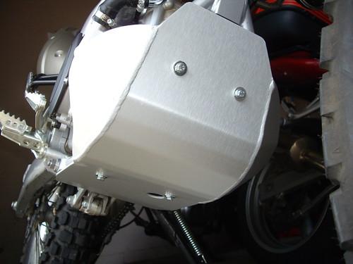 WR250R Skidplate