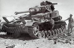 DMP-D939 GERMAN PANZER IV DESTROYED (damopabe) Tags: wwii north german afrika british iv destroyed officer panzer