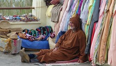 Waiting for the customers, Morocco (cmphotoroll) Tags: morocco marketplace tangiers worldwidewandering