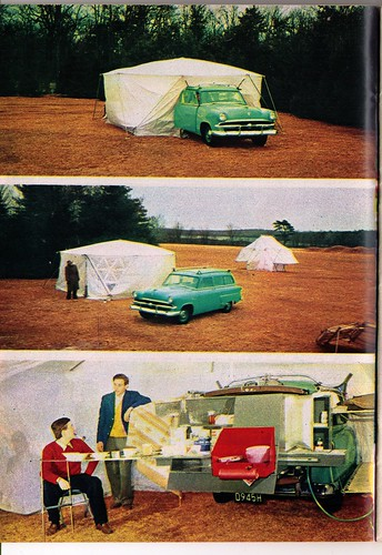 1953 Ford Ranch Wagon Camper by Buckminster Fuller & MIT
