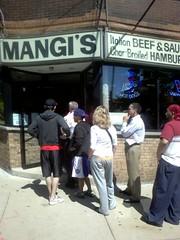 Free Gyros Day @ Mangi's