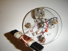 Spooky Tesla Spirit Radio Innards (MrfixitRick) Tags: radio technology crystal spirit tesla