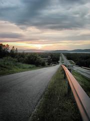 Roadway to Midnight Sun (CharlyGH) Tags: trip travel sun sol norway canon cabo camino carretera midnight g3 canong3 artic norte artico roadway maverick cgh soldemedianoche cabonorte karasjok northcap viajenovios circulopolarartico articpolarcircle charlygh