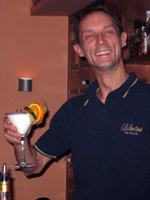 Barkeeper Andreas Wengel