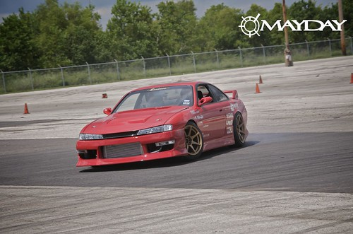 Justins super clean 240sx getting in on the action
