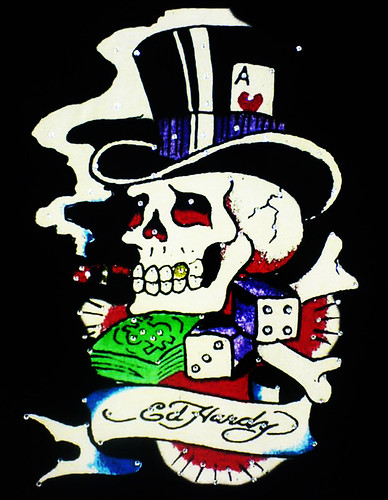 Ed Hardy Mister Lucky Tattoo Design