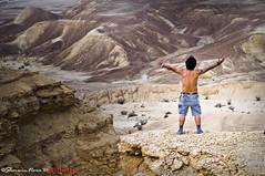 I'm the King of Edge of the World! (` bluechip) Tags: desert kubo riyadh saudiarabia edgeoftheworld katutubo nikond300 peopleenjoyingnature sherwinnora derekmallete