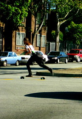 Patinador en San Francisco