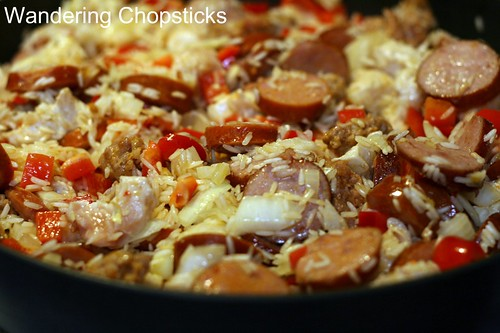 Creole Red Jambalaya with Chicken and Sausage 5