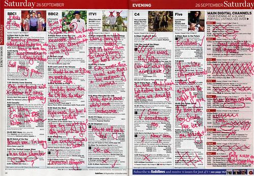 Radio Times 26 September 2009
