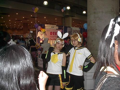 Rin and Len Kagamine Cosplay