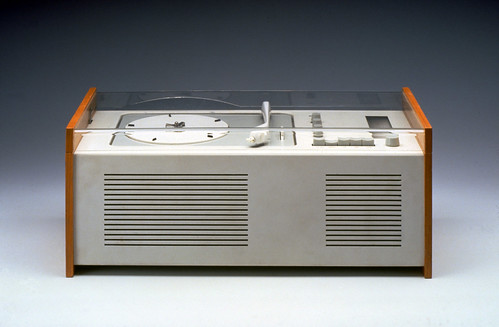 SK 4 radio-phone 1956 Braun, designed by Dieter Rams..