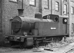 Naysmyth Wilson 1419 0-8-0T NCB Gin Pit  EMMANUAL CLEGG 22 Sept 1964 (pondhopper1) Tags: blackandwhite white black steam railways ncb monchrome uksteam 080t naysmythwilson
