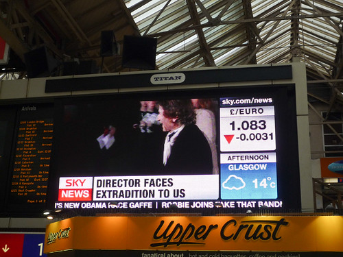Sky News on Titan screen