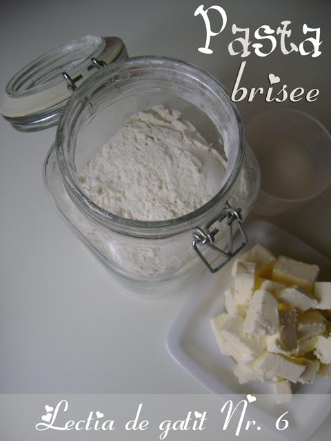 Cooking Lesson N.6 ~ Pasta brisee