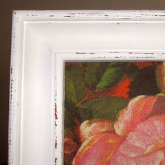 "Pictures ""Roses"" with shabby chic frames (part)"
