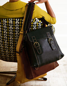 Boden satchel leather