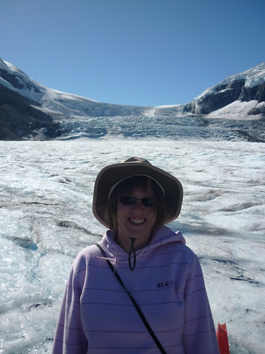 On the Athabasca Glacier