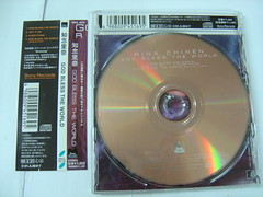 原裝絕版 1999年 3月31日 知念里奈 RINA CHINEN CD 原價  1223YEN 中古品 3