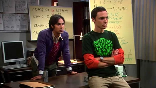 The Big bang Theory Raj e Sheldon
