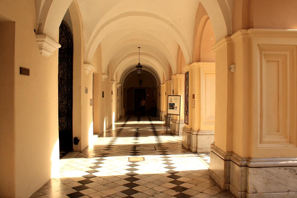 Biblioteca de la Facultad y la Biblioteca Mayor de la UNC, además de ...