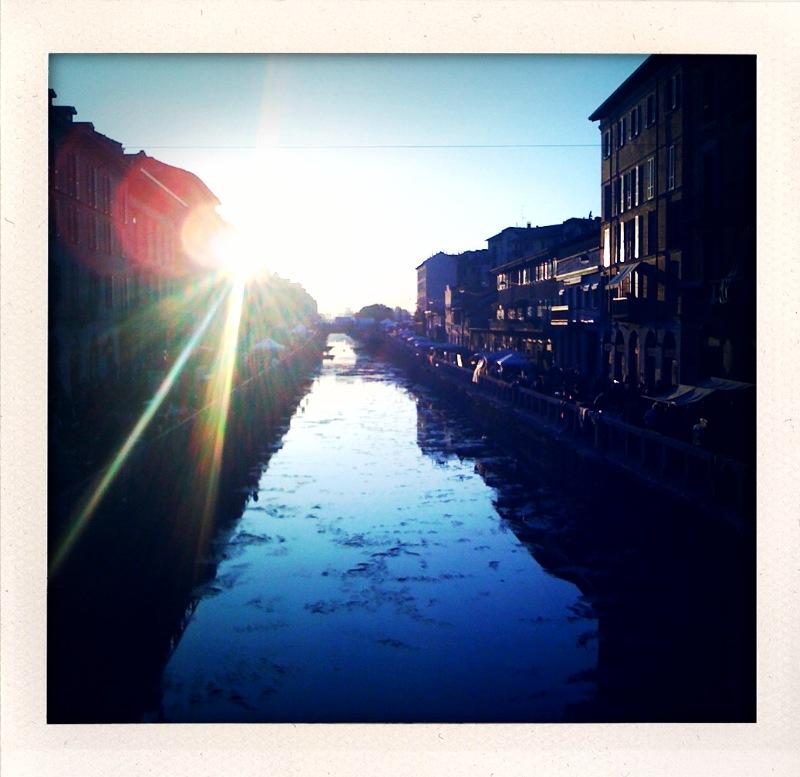 Sunset - Milan