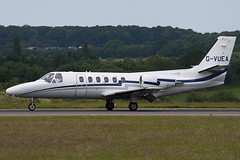 G-VUEA - 550-0671 - Private - Cessna 550 Citation II - Luton - 090616 - Steven Gray - IMG_4378