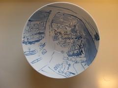 DSCN0511 (Annabelle Rebiere) Tags: art haarlem netherlands work vintage ceramic french landscape blauw artist annabelle plate service dishes tableau paysage assiette landschap ceramique tegel delftblue ker