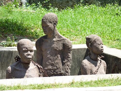 Slave memorial, Stone Town, Zanzibar
