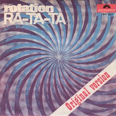 Rotation - Ra-Ta-Ta (1970) (darklorddisco) Tags: rock disco design european euro picture retro stoned rotation swirl psychedelic 45s sleeve psych polydor
