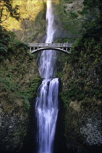 Multnomah Falls, 1998 on Flickr