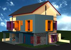 Desain Rumah-Minimalis di Sudut Cibubur-2 by Indograha Arsitama  Desain & Build