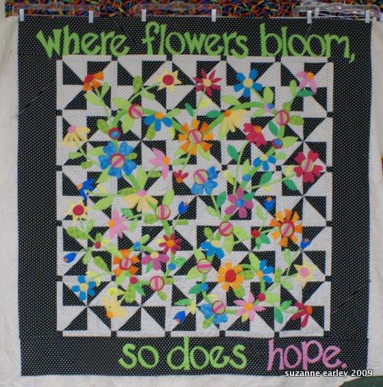 hope blooms in progress