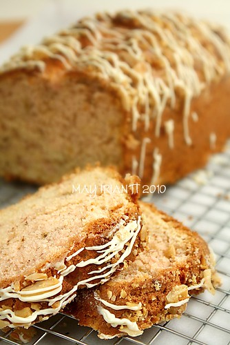 Cream Cheese Banana - Nut Bread