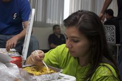 almuerzo en el flisol caracas 2010